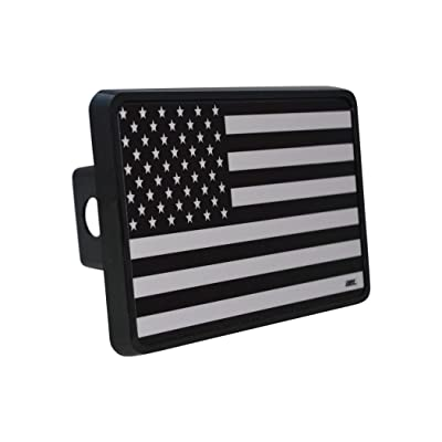 Rogue River Tactical USA American Flag Trailer Hitch Cover Plug US Patriotic Subdued Military Veteran Flag: Automotive