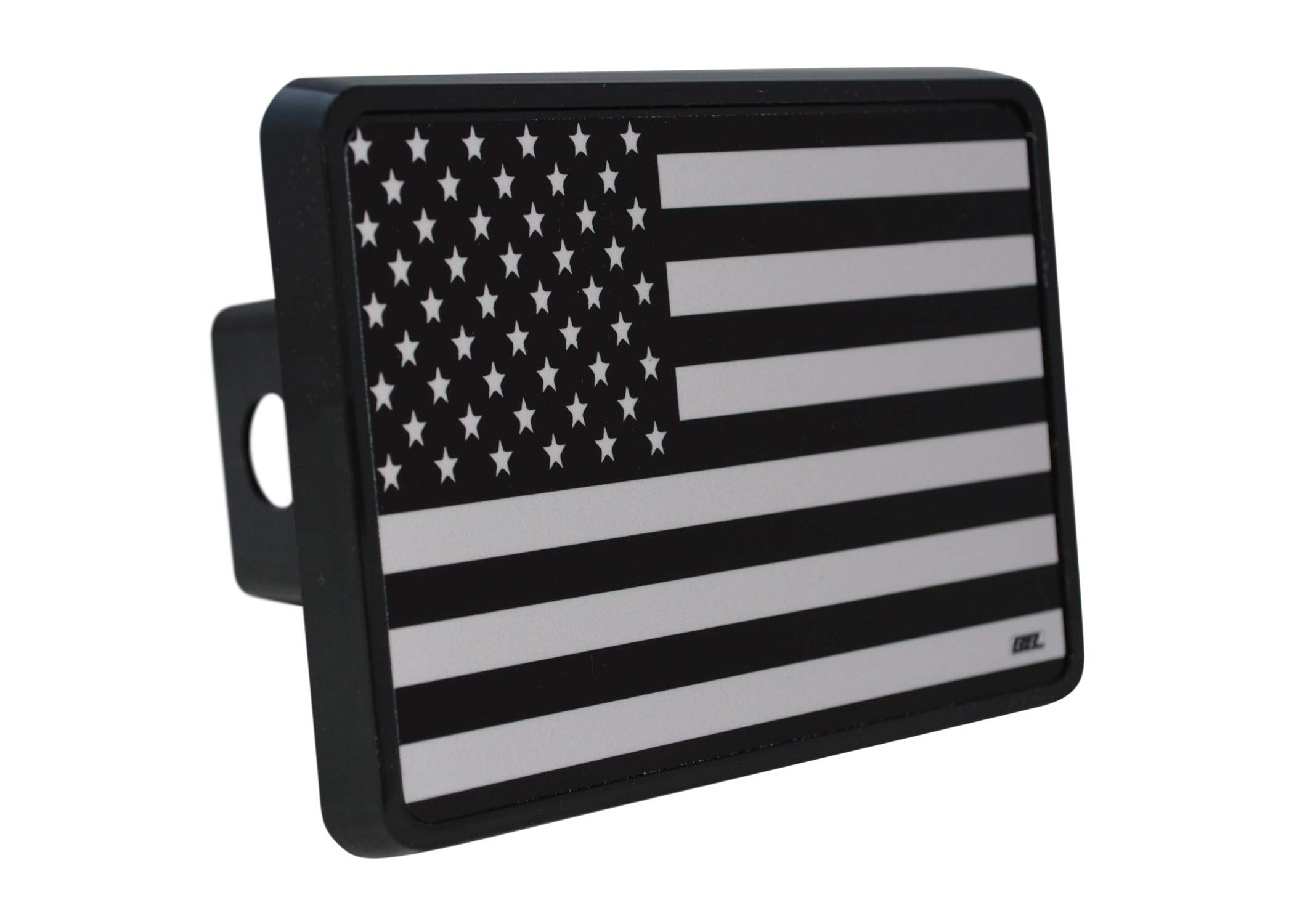 Rogue River Tactical USA American Flag Trailer Hitch Cover Plug US Patriotic Subdued Military Veteran Flag by Rogue River Tactical