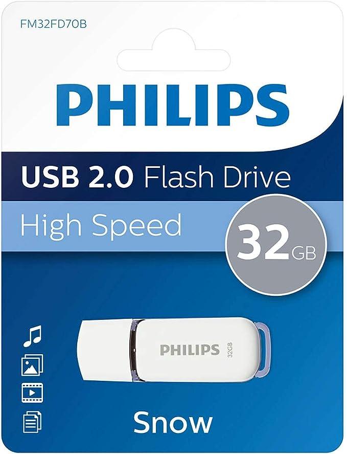 Philips Fm32fd70b 10 Snow Edition 32gb Speicherstick Computer Zubehör