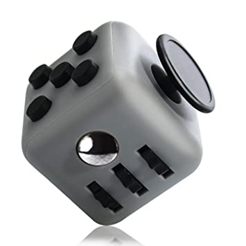 Buy Grand Oasis Anti Stress Cube for Adults Relieves Fidget Cube for Fidgeters Thanksgiving Christmas Gifts(Deep Grey) Online at Low Prices in India ...