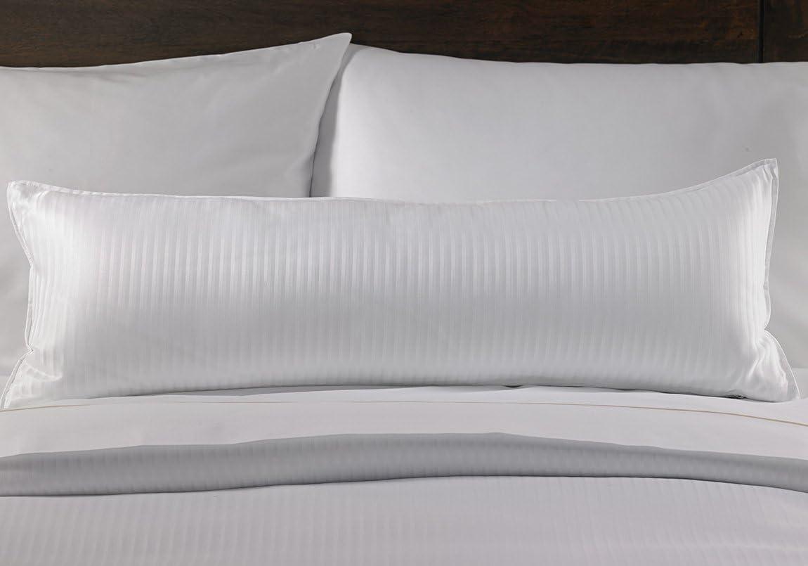 Amazon Com Westin Hotel Boudoir Pillow Cover Silky Smooth Striped Decorative Pillow Cover For Boudoir Pillow Queen King 12 X 36 Home Kitchen