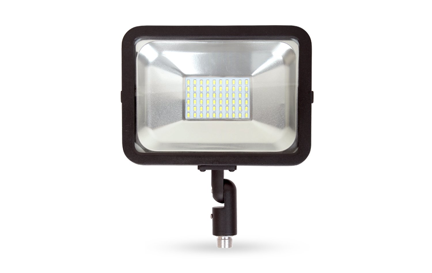 LLT LED COMPACT Floodlight with Arm SMD Outdoor Landscape Security Waterproof 30W 5000K (Daylight)