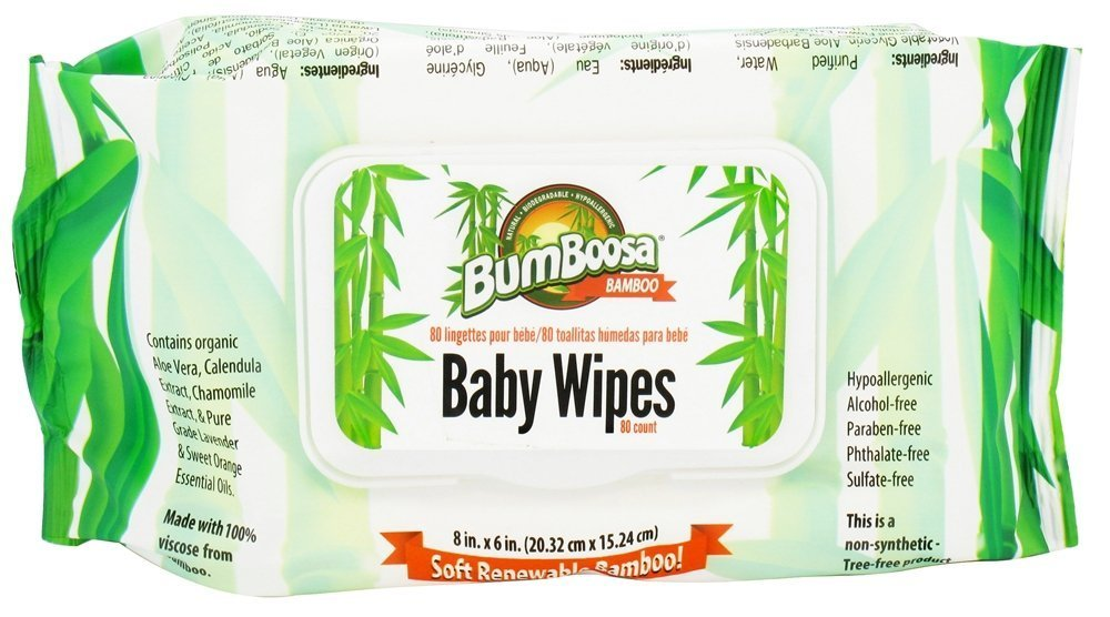 Amazon Com Bum Boosa Bamboo Baby Wipes 80 Count Pack Of