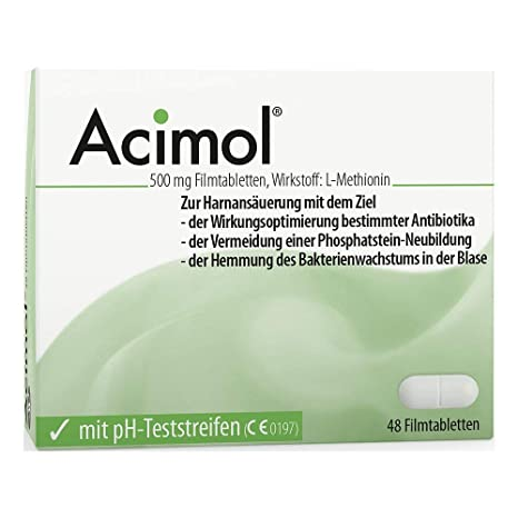 acimol pastillas, 48 ST.