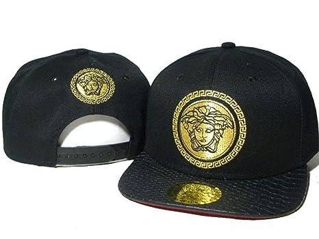 VERSACE cappelli di snapback   tappi (nero con logo giallo 172e4905e977
