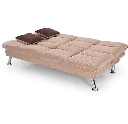 Royaloak Milan Sofa Cum Bed Brown Amazon In Home Kitchen