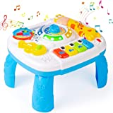Subao Baby Toys 6 to 12 Months Activity Table Musical Learning Table 6 Months Up Kids Toddlers Infant Toys for 1 2 3…