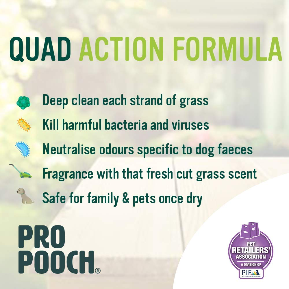 Pro Pooch Limpiador de Pasto Artificial para Perros (Súper ...