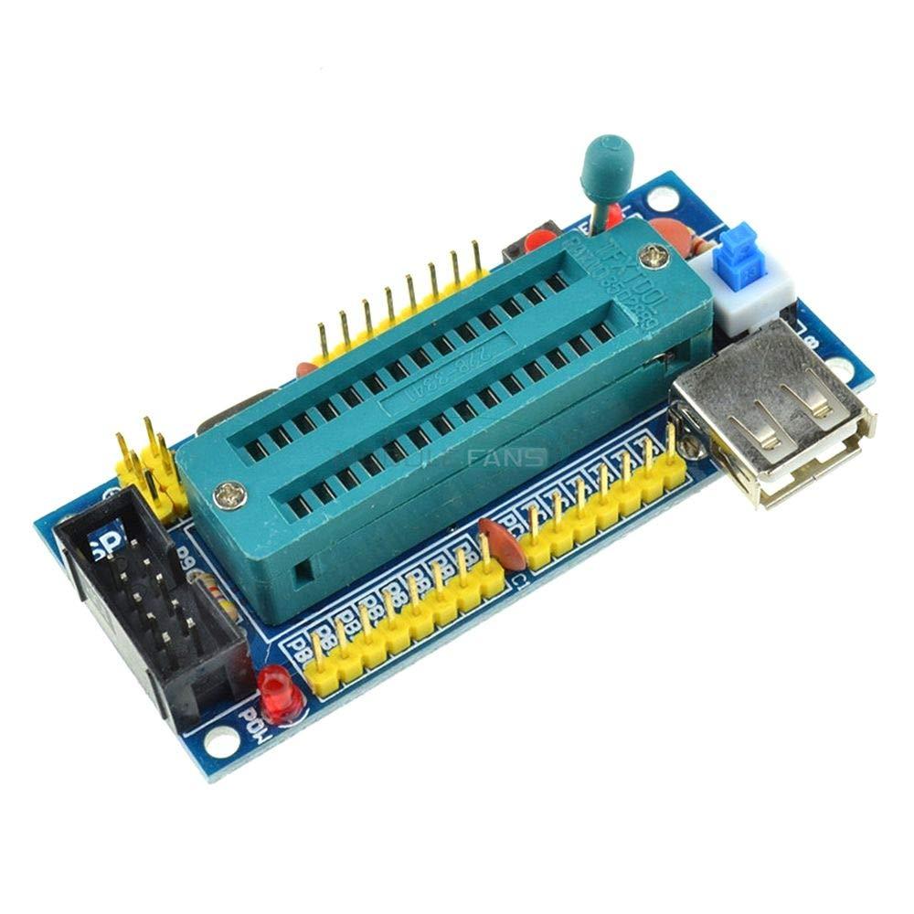 NO Chip DIY Kit ATMEGA8 ATMEGA48 ATMEGA88 Development Board AVR