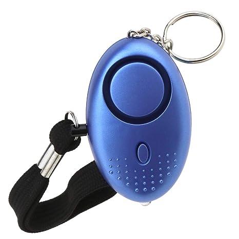 Creative-Idea 130dB Alarm Llavero LED luz Seguridad ...