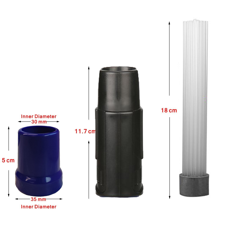 Blu Testina Universale per Aspirapolvere 30-35mm Dust Spazzola Daddy Pulisci aspirapolvere Strumenti per pulizia Dust Duster per PC Tastiera per schermo CD
