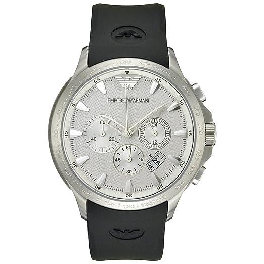 cee001f1e80e Emporio Armani AR0634 - Reloj para hombre  Emporio Armani  Amazon.es   Relojes