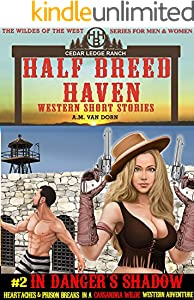 Half Breed Haven #2-In Danger's Shadow: A Cassandra Wilde Western Adventure (The Wildes of the West) -Wonder women of the Old West Series