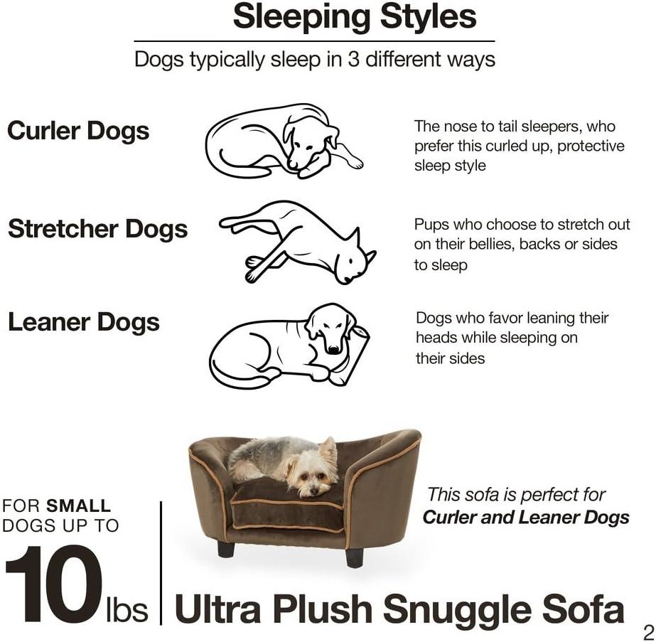 Enchanted Home Pet Ultra Plush Snuggle Pet Bed in Dark Grey : Pet Supplies