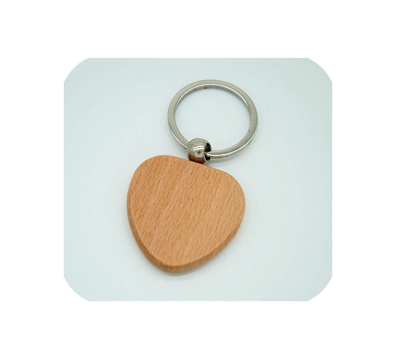 Amazon.com: 20 llaveros de madera personalizados para ...