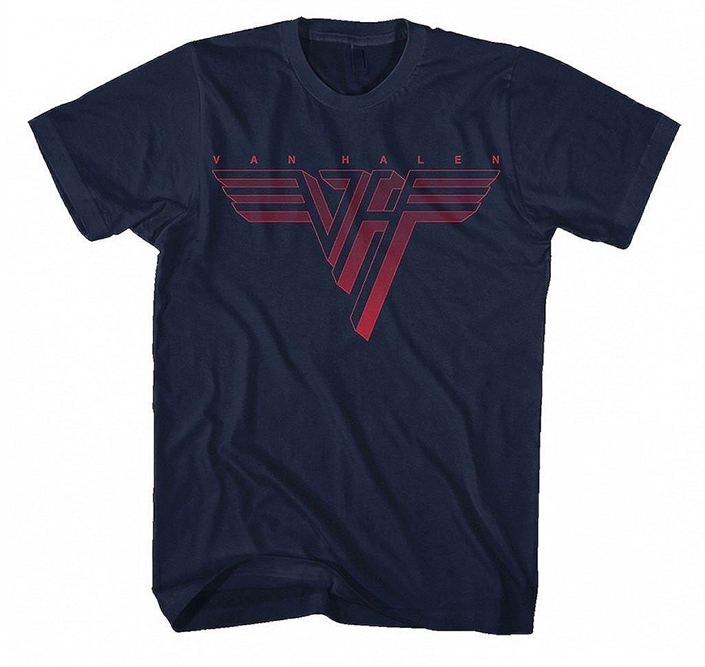 Van Halen 'Classic Logo' T-Shirt Plastic Head