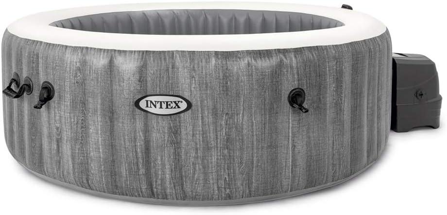 Intex 28440EX Spa hinchable 4 personas Greywood Deluxe 795 Litros