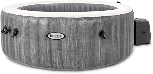 Intex 28442EX Spa hinchable 6 personas Greywood Deluxe 1098 Litros ...