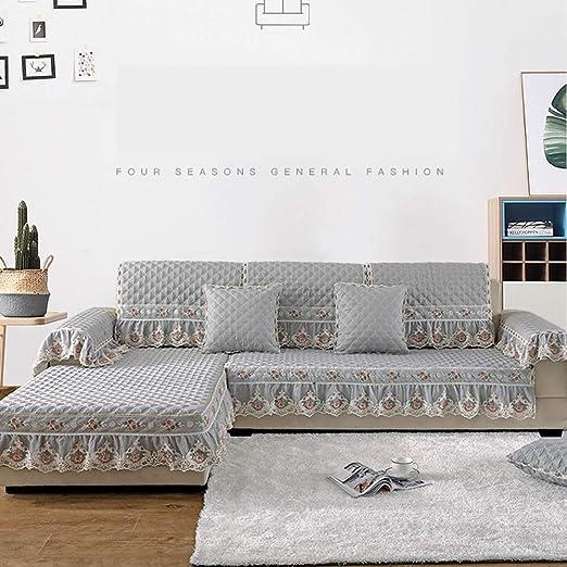 Ainy - Funda de sofá de Chenilla Acolchada de Jacquard para ...
