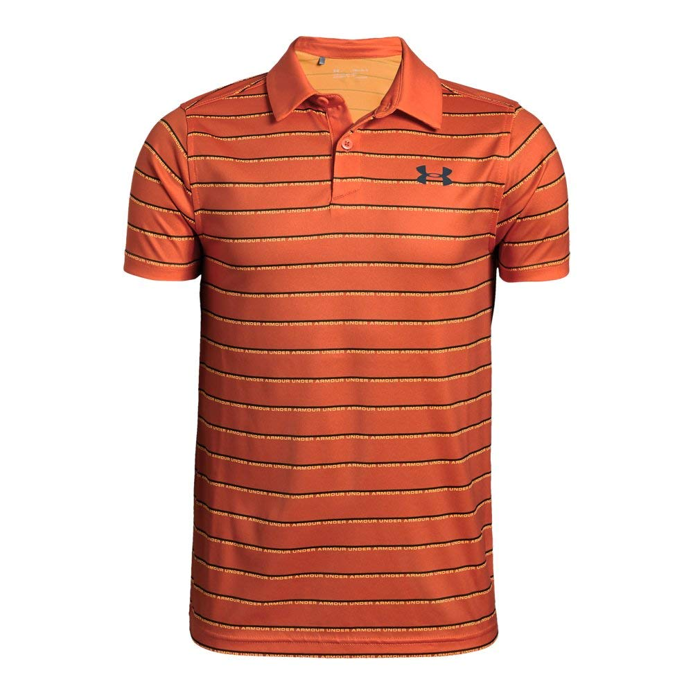 Under Armour UA Tour Tips Stripe Youth X-Large Papaya by Under Armour