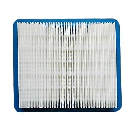 Aubess - Filtro de poliuretano azul para cortacésped de papel y filtro de aire Quantum Engine para 6/6,5