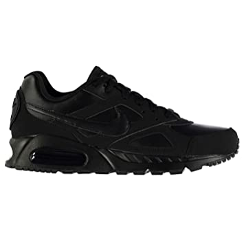 Nike Air Max Ivo Leder Training Schuhe Herren Triple schwarz Gym ...