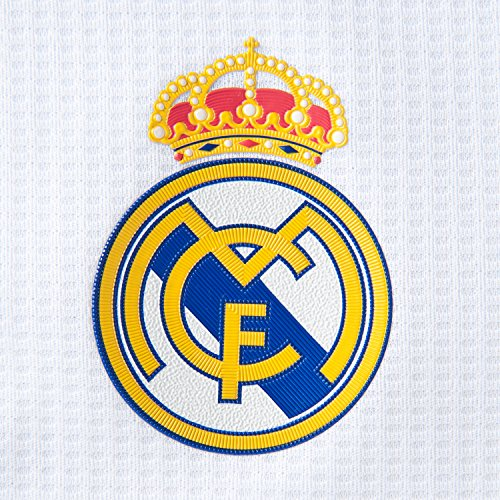 adidas Kinder Fußball-trainingsset Real Madrid Mini-Heimausrüstung Weiß/Clgrey