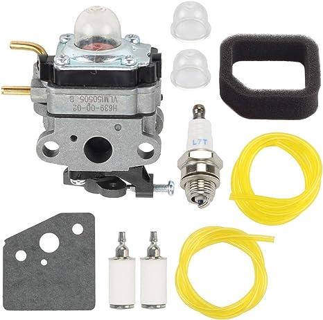 Carburetor For Ryobi RY252CS RY253SS RY251PH RY254BC Models 25.4cc 25cc Air Filt