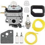 307160001 Carburetor For Ryobi RY252CS RY253SS Air filter Fuel line Tune up kit
