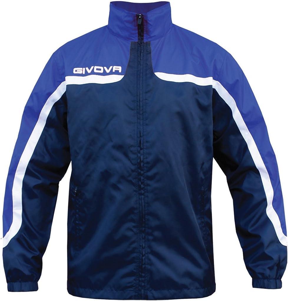 TALLA 2XL. givova Rain Jacket Asia Chaqueta de Lluvia, Unisex Adulto