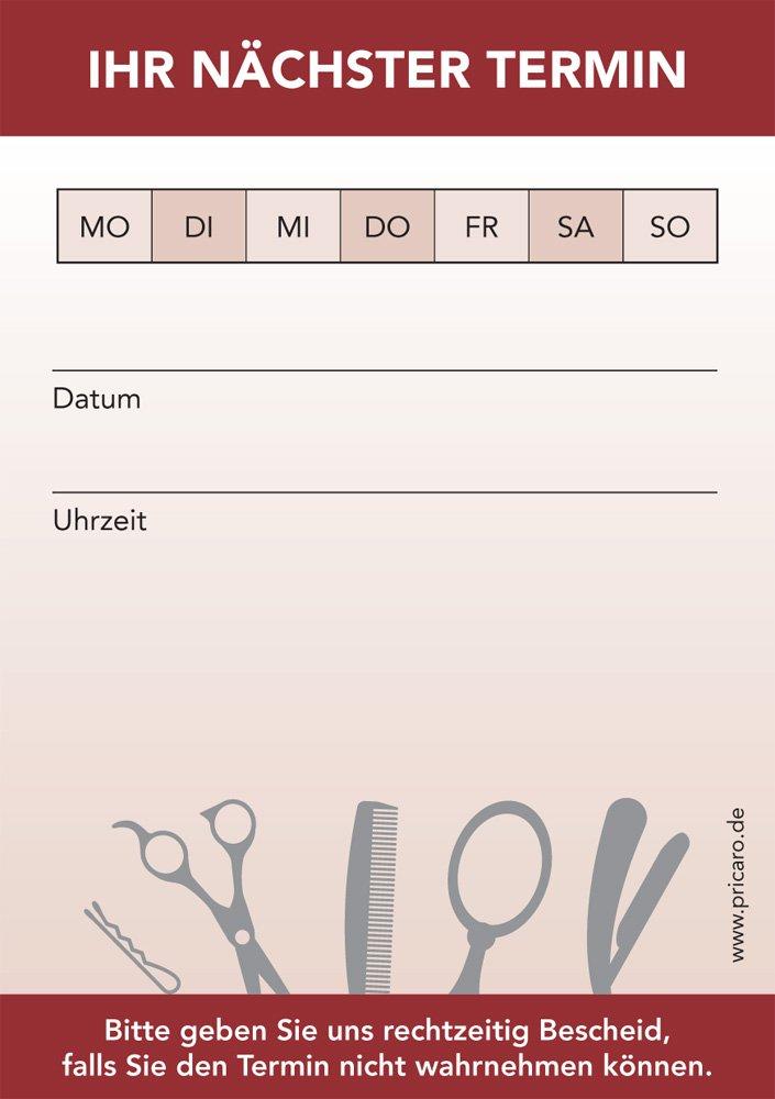 pricaro Agenda bloque para peluquería (20 unidades): Amazon ...