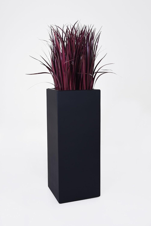 pflanzk bel blumenk bel auf rollen fiberglas block 100 anthrazit g nstig online kaufen. Black Bedroom Furniture Sets. Home Design Ideas
