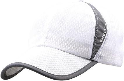 Gorra de béisbol de mujer de primavera verano transpirable neto Sun Visor sombreros de deportes al aire libre