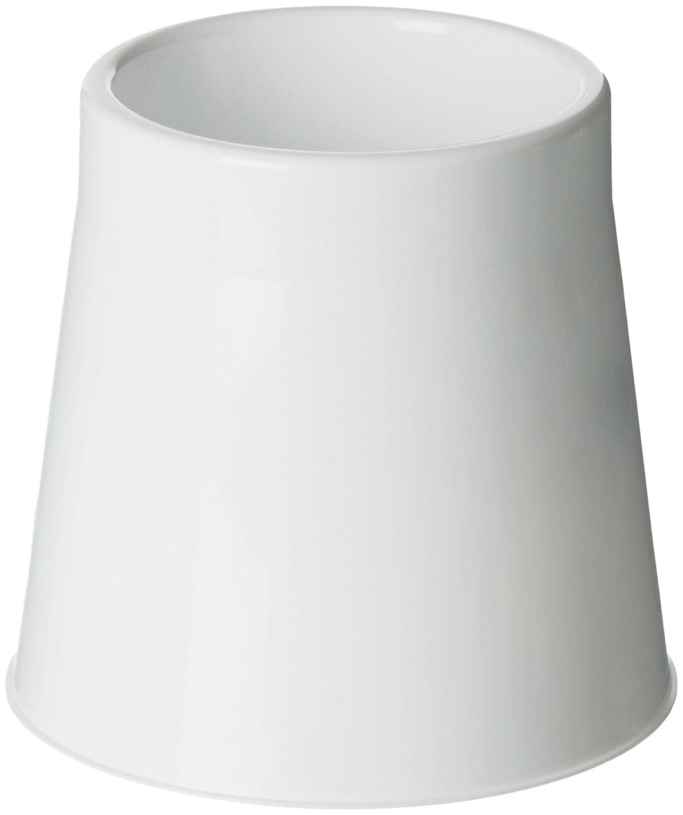 Amazon Basics Toilet Bowl Brush Holder, White, 12-Pack