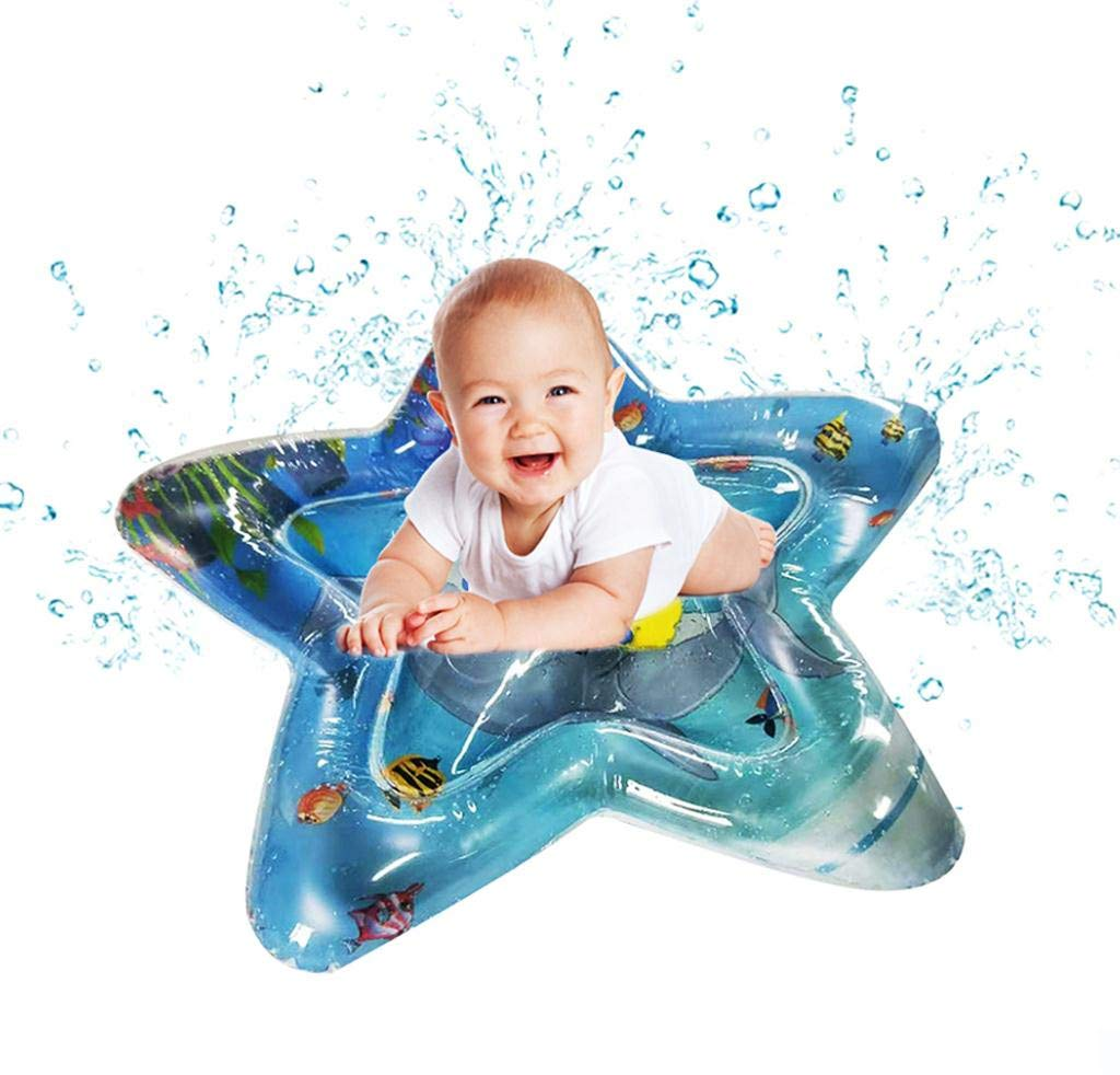 WONdere Inflatable Baby Water Mat Fun Activity Play Center for Children & Infants (B)