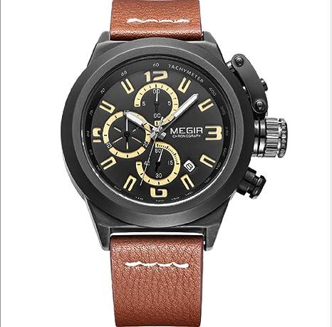 Quartz Men Watch Luminous Relogio Masculino Multifunction Wrist Watches Men Clock Chronograph Watches Reloj Hombre (