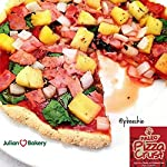 Paleo Pizza Crust Mix (2 Mix Pack) (Gluten-Free & Grain-Free) 12oz 12 Easy To Make Paleo Pizza Crust Mix (Enjoy Two Paleo Pizza Mix Packs) Amazing Flavor! Just Like Real Pizza! (Easy To Roll Our If You Apply Coconut Oil To Rolling Pin) 100% Paleo, Gluten Free, GMO Free, Grain Free, Pizza Crust Mix