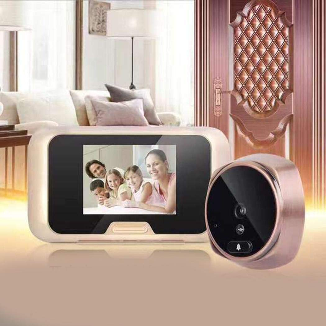 3 Inch LCD 120 Degrees Electronic Video Doorbell Night Vision Security Camera