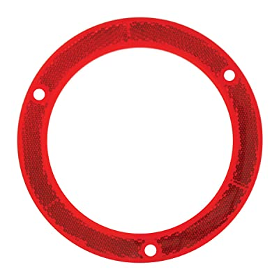"Grand General 81635 Red Reflector Ring for 4"" Round Light, 1 Pack: Automotive"