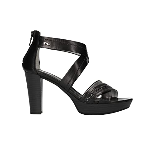 NERO GIARDINI Sandali scarpe donna nero 5610 mod. P805610D
