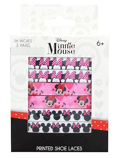 c343a7e251ff65 Amazon.com  Disney Minnie Mouse Printed Shoelaces