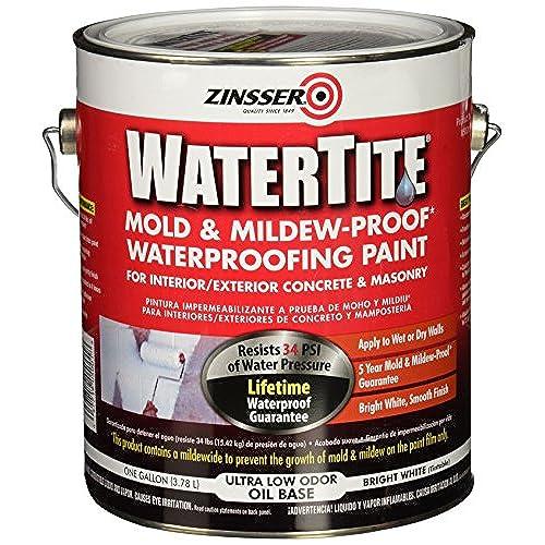 Waterproofing Paint Amazoncom - Moisture resistant paint for bathrooms
