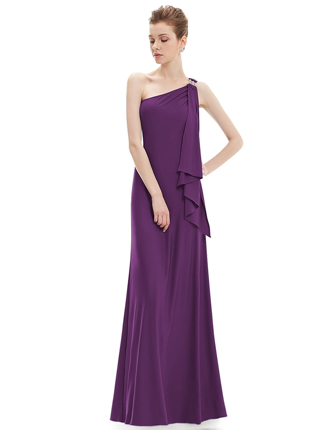Amazon.com: Ever Pretty Womens One Shoulder Floor Length Evening ...