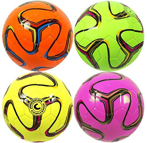 American Brasilia Soccer Ball (Lime, 4)