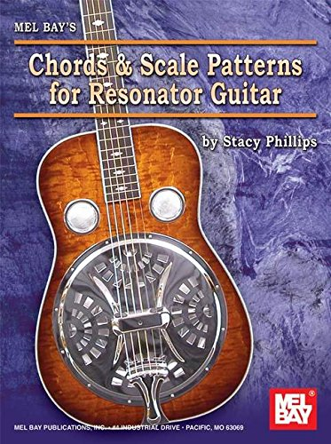 Chords and Scale Patterns for Resonator Guitar Chart ()