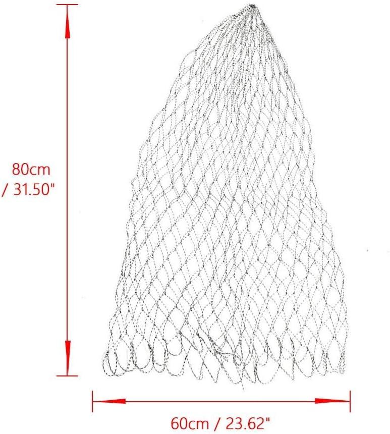 Fly Fishing Replacement Landing Net Durable Strong Fishing Catch Release Mesh Net