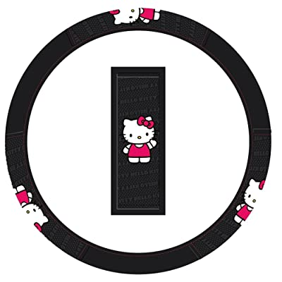 Hello Kitty Ribbon Steering Wheel Cover: PlastiColor: Automotive