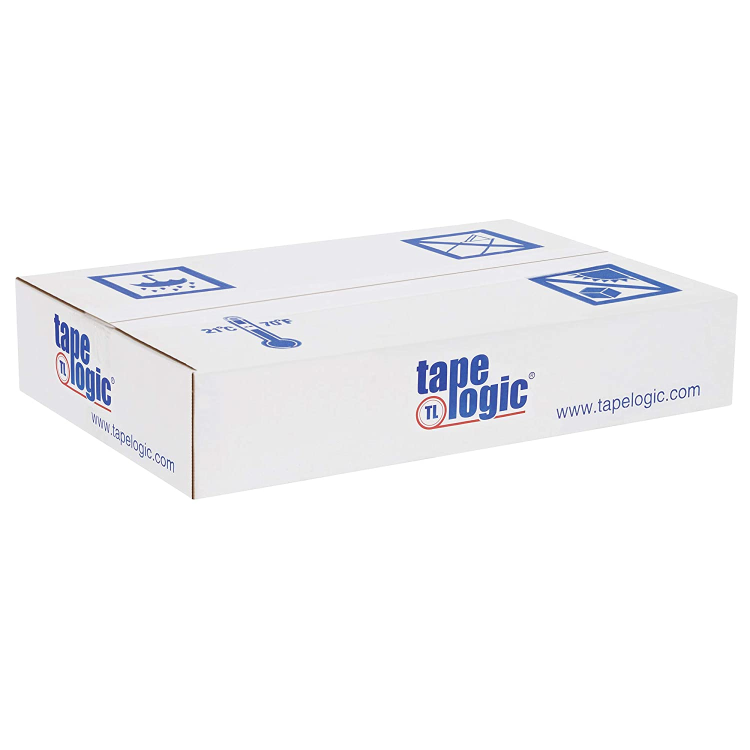Moving and Storage Thick 2.6 Mil for Packaging 3 Inch x 55 Yds Per Roll 6 Rolls Extra Wide Heavy Duty Clear Packing Tape Shipping