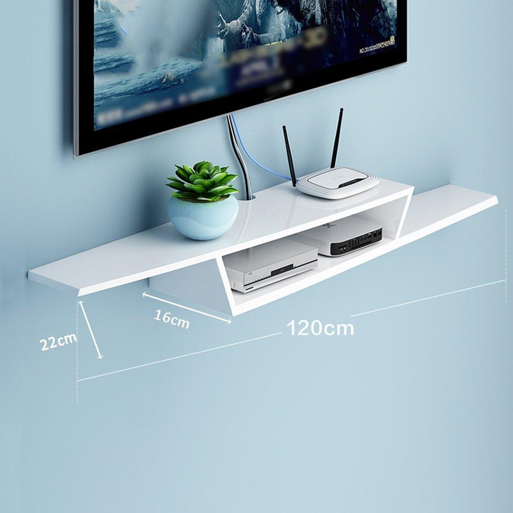 LIANGJUN 壁掛け棚 木製 リビングルーム 背景壁、 使用可能な9種類 ( 色 : 120cm-white-1# ) B07BHN4FLN 22630 120cm-white-1# 120cmwhite1#