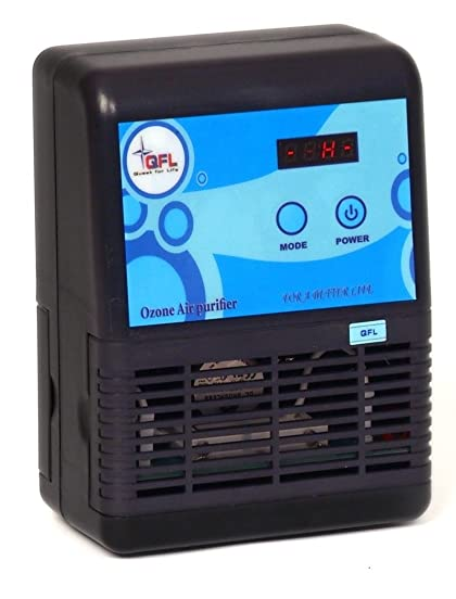 QFL BreathePure 500 Ozone Air Purifier Ionizer, Smoke and Odor Eliminator, Covers 2500 Sq.Ft. Removes Dust, Pollen,Tobacco, and Pet Odors, Excellent for home and work place.